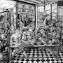 Amical repas en remerciement pour frere jean. Jean Claude Buisson