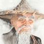Portrait d'un chinois. Denise Rosental