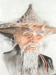 Portrait d'un chinois.