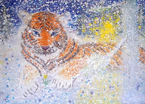Siberian tiger. Evgeniy Ivaschenko Evgeniy