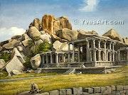 Hampi Temple 2.