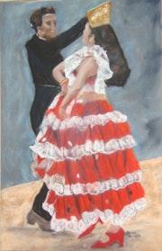 Danseurs de flamenco.