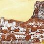 Hérault, la forteresse de Saint Jean de Buège. Créartiss/créactif