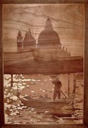 Venezia (marquetry work). Marquetry Design