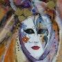 Masque Papillon. Marie Ferrand