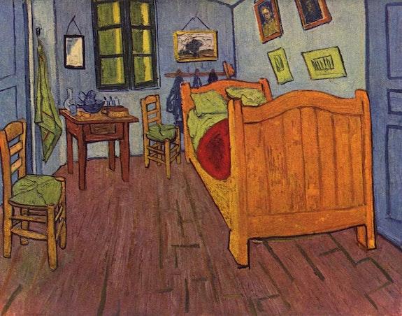 La Chambre à coucher.  Vincent Van Gogh
