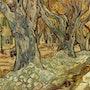Les Paveurs (« Les Grands Platanes »). Vincent Van Gogh