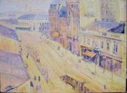 «Kolarceva street», 1930 y. Paunovicart