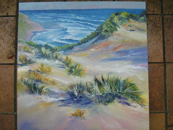 Regard au delà des dunes. Daniele Jondeau Dany