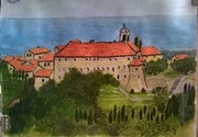 Château de Gourdon. Alpes Maritimes.