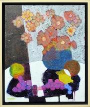 Bouquet aux raisins.