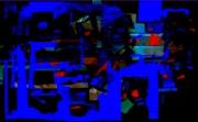 Composition abstraite « nega ».