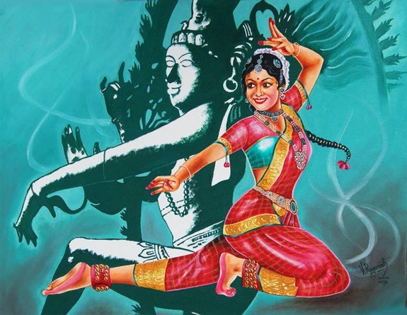 Bharatanatyam - is a classical dance from South India. Ragunath Ragunath