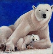 Maman Ours et son petit.
