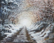 Tunnel blanc.