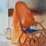L'absence 50x70. Eliane Marque