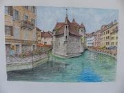 Annecy, la vieille ville.