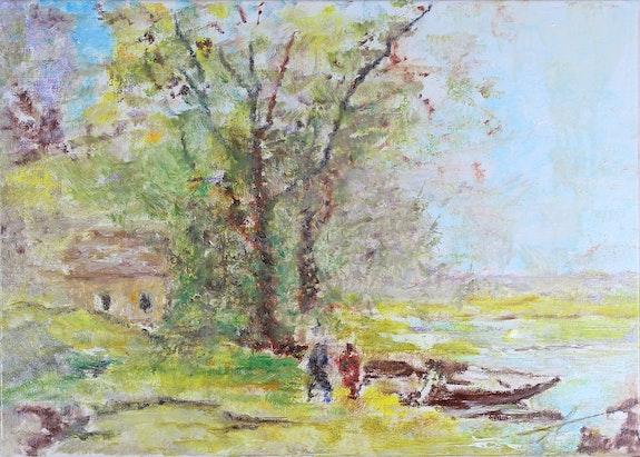 La petite maison près de l'étang…. Ayala Ayala Andre