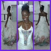 Wedding dress. Baboo Méliboo