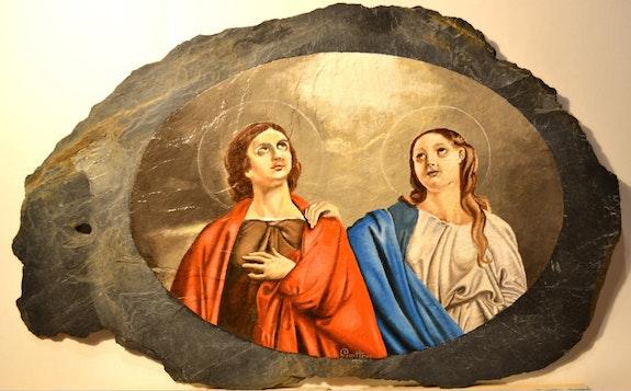 Sainte rufine et sainte seconde. René Guitton René Guitton