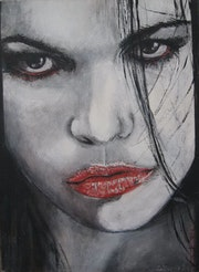 «Mystical girl». Paunovicart