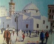 Mosquée, (Djmâa eldjedid), Alger. Mhamed Saci