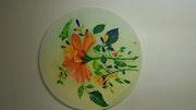 Bouquet éclatant de couleurs nu°3.