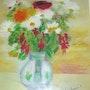 Bouquet de fleurs, 1993. Yvon Couchouron