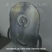 Globule Sculpture métallique. Karbon