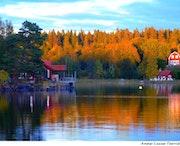 Le lac Vänern.