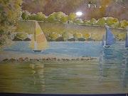 Nuances d'automne sur le Lac….