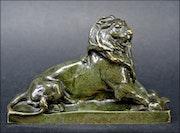 Le lion de Belfort par Bartholdi.