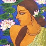 Title-Spring Beauty. Suparna Dey