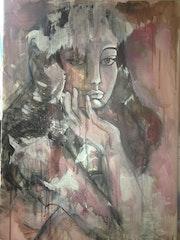 Féline (portrait de femme).