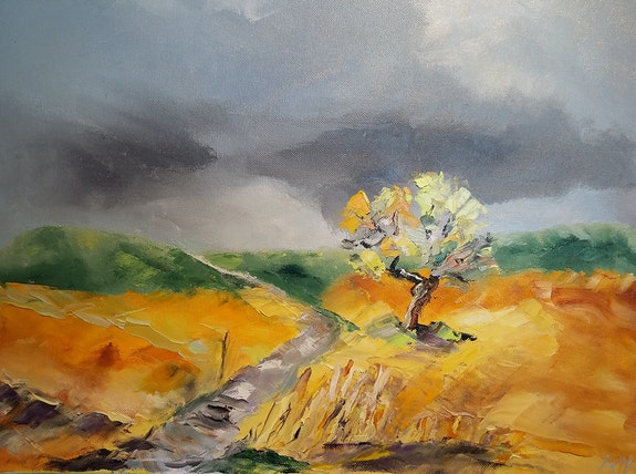 Lumière toscane.  Anne-Marie Briot