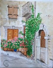 Roquebrun entrée en fleurs n°323 05/2016.