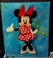 Minnie mouse Disney. Abir Hassouna