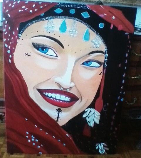 Basma l Indi ou le sourire de l inde. Karine Foucaud Karine Foucaud