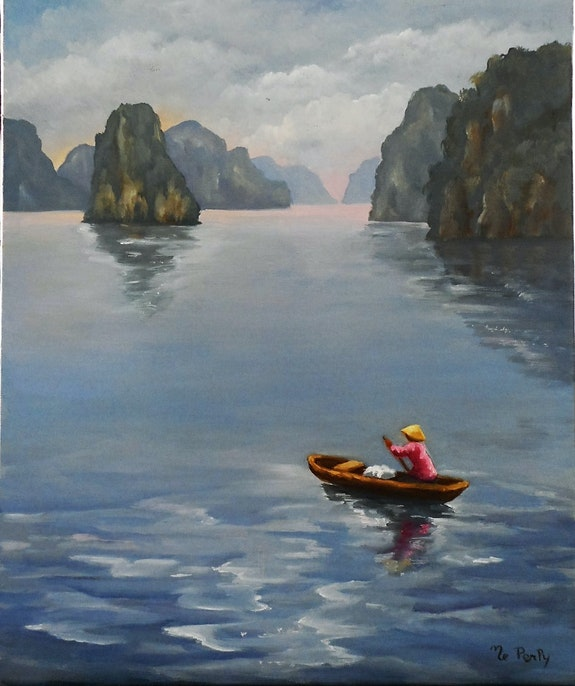 Baie d'halong. Marie-Elisabeth Perly Meperly