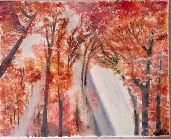 Lumière d'automne.  Zarhwa
