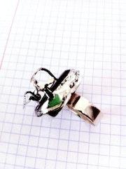 Bague «La Tarentelle» - bijoux d'auteur: Rodica Zeana.