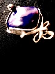 Bague «La Valse» - bijoux d'auteur- Rodica Zeana.