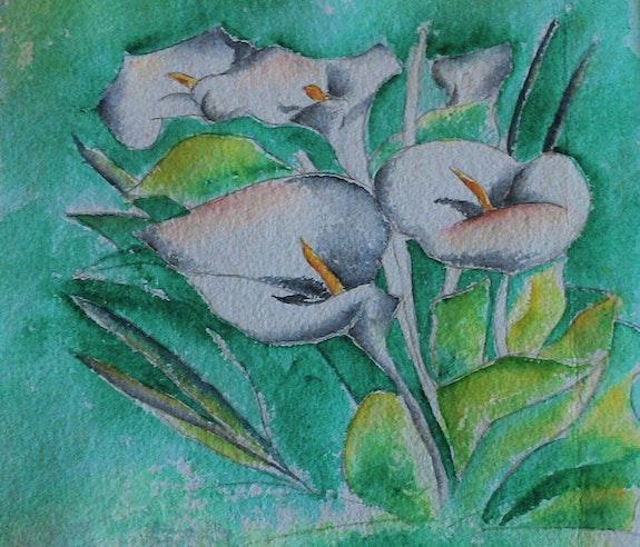 Les arums. Ghislaine Phelut-Sanchez Ghislaine Phelut