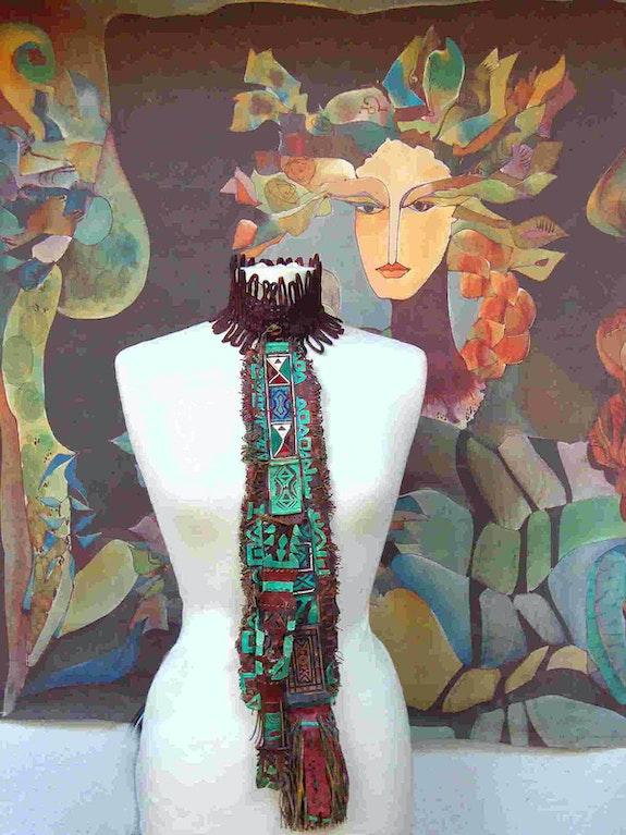Tuareg-Krawatten-Collier. Rosemarie Bühler Rosemarie Bühler
