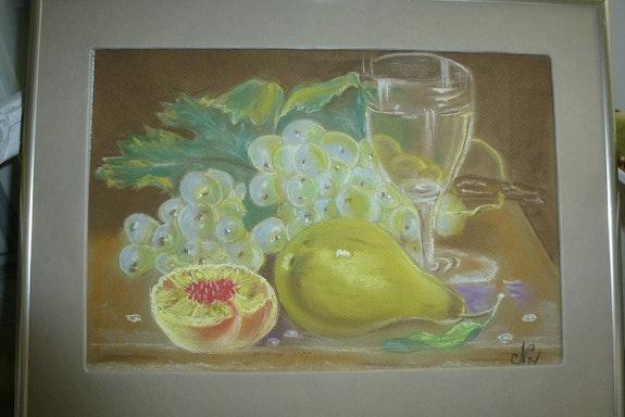 Les raisins en Languedoc. Nicole Bringuier Nicole Bringuier