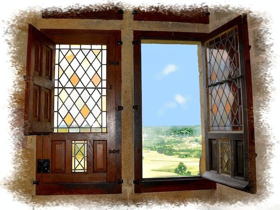 Par la fenêtre ouverte…. Anne-Lucie Tarrie Altarrié