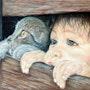 La cachette. Chantal Gilbert