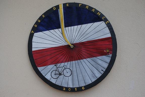 Tour de France création 2016. Claude Sauvage Mouvement Extraterrisme/ Rondisme Claude Sauvage
