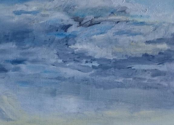 Ciel nuageux. Nicole Retureau Nicole Retureau