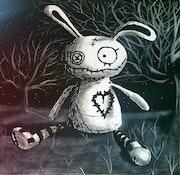 Lapin au Clair de Lune.